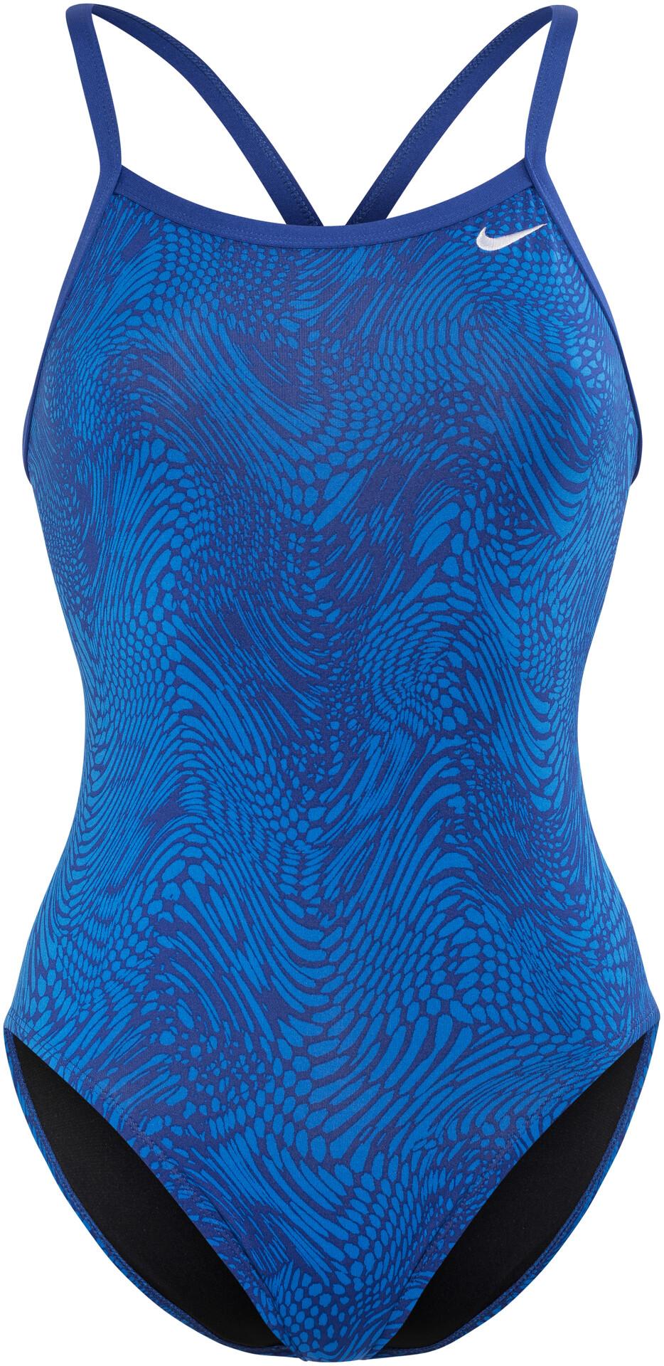 Bikester Swim Donna Blu Bagno Nike Geo Su Costume Alloy Da FUU4zdwq